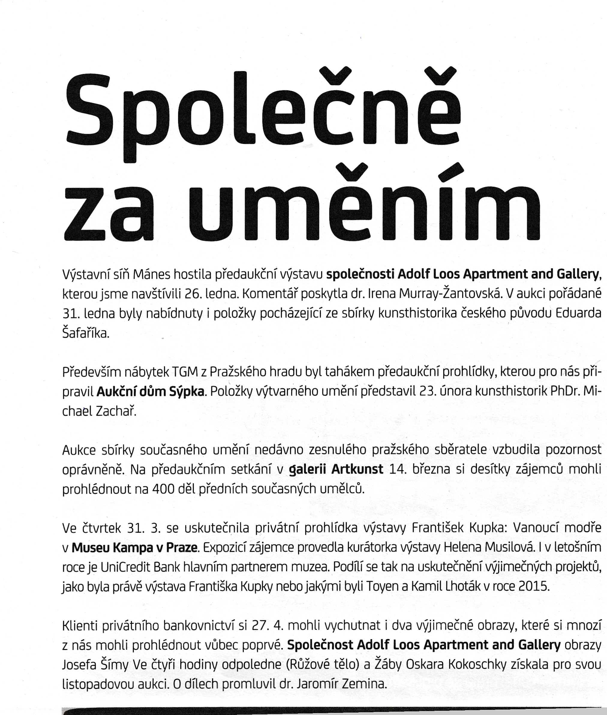 8974 UnicreditBank Bulletin