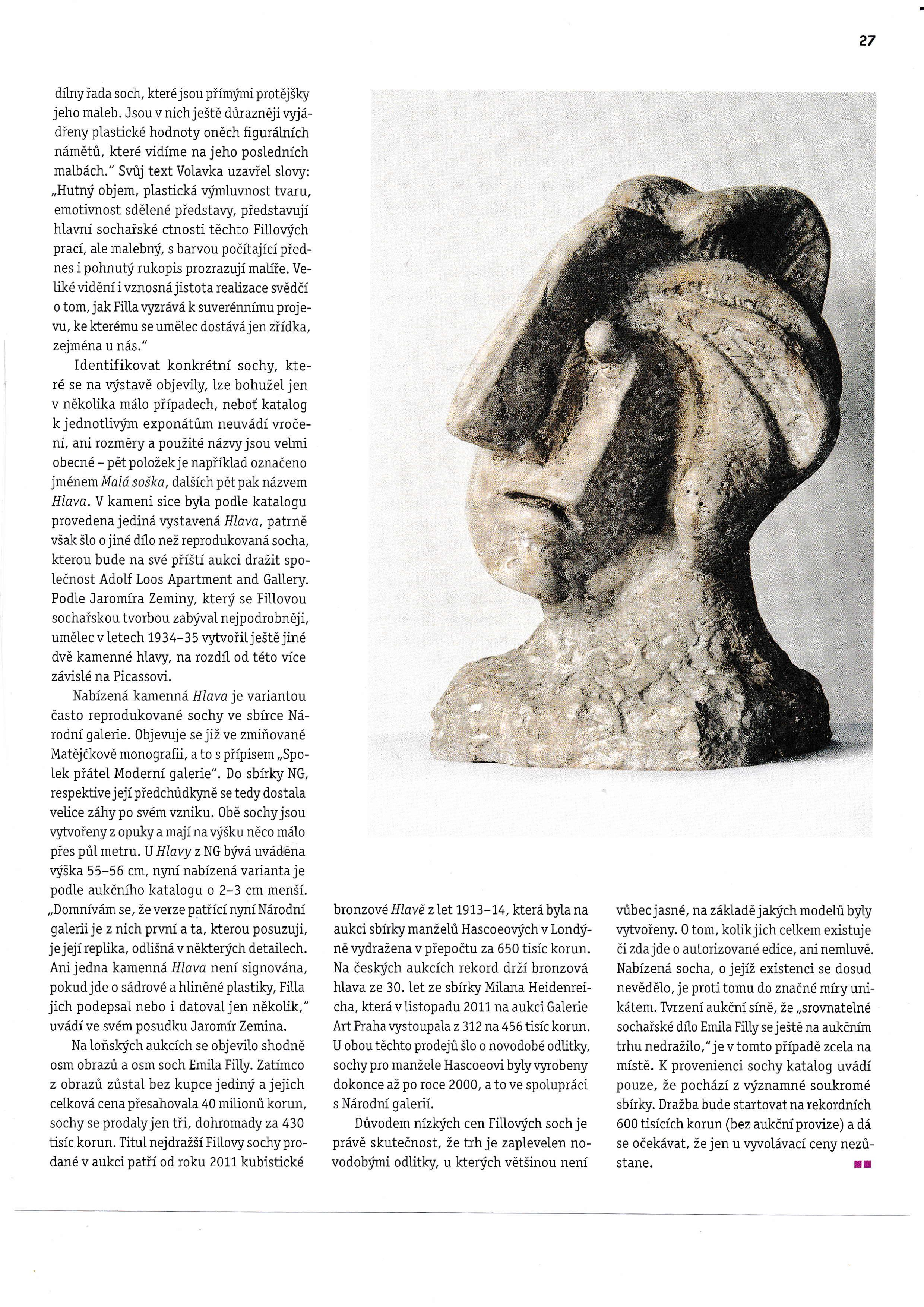 Filla sochař (Art + Antiques 04/2017) s.2