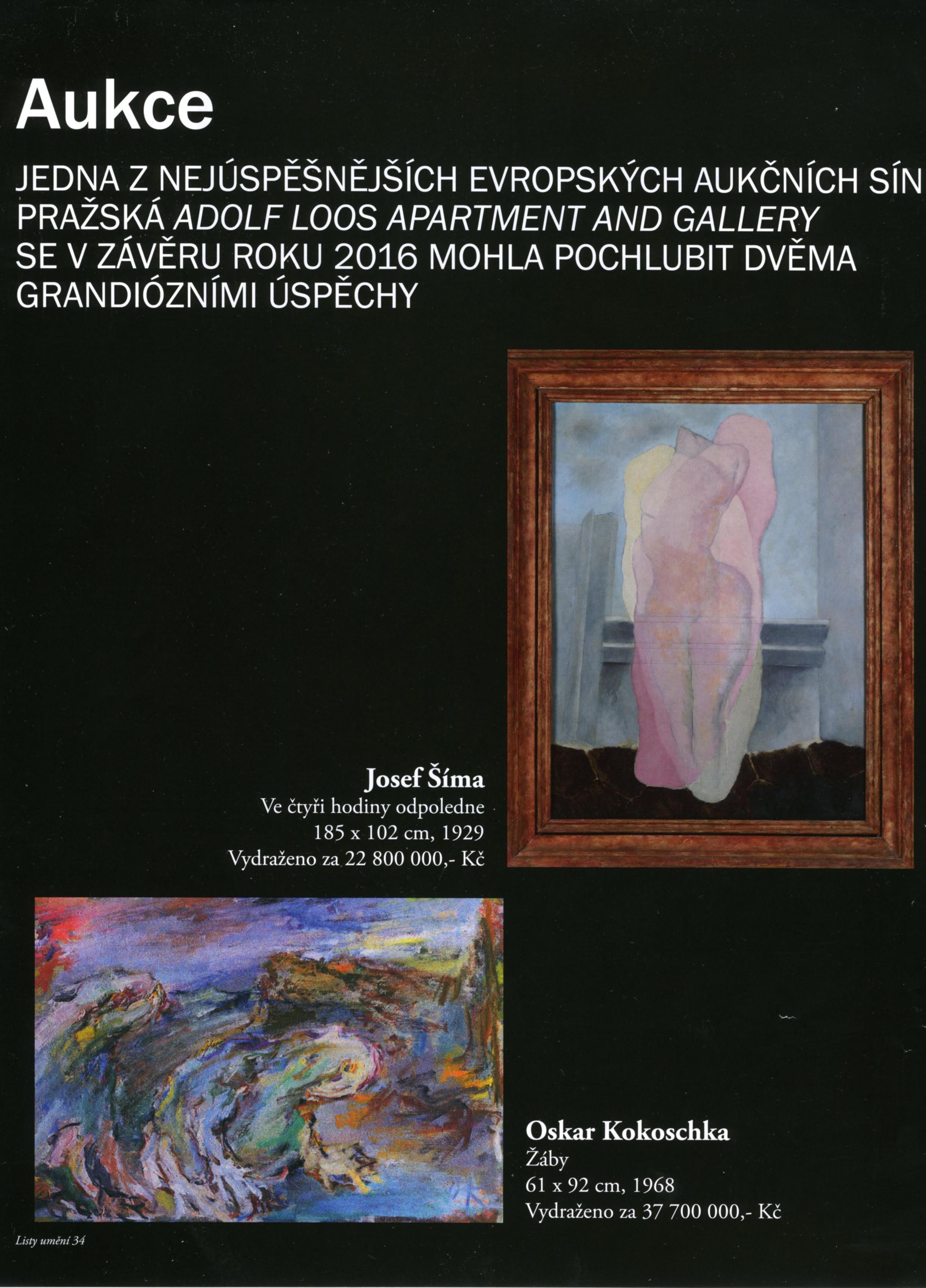 Listy umění