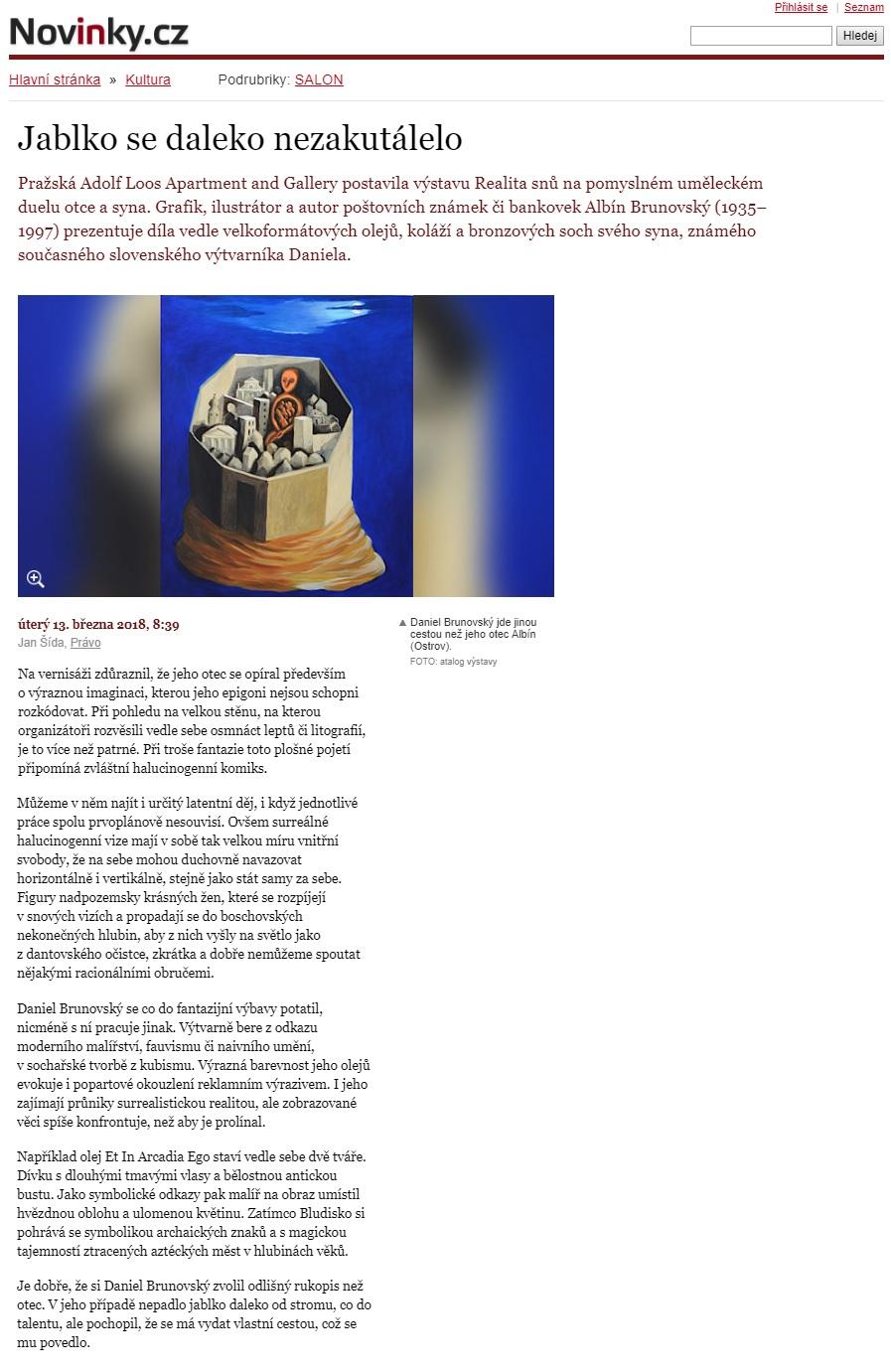 Novinky.cz, 13.3.2018