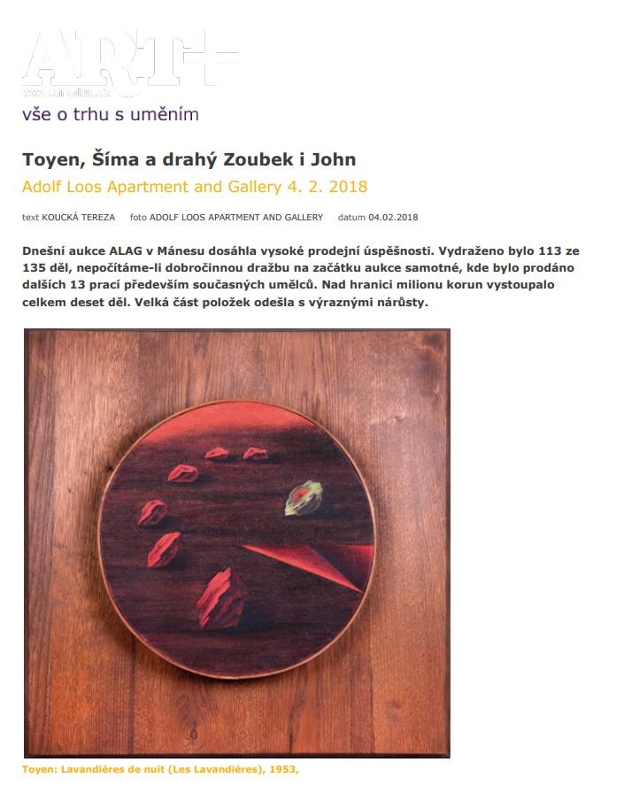 Artplus.cz, 4.2.2018, str.1