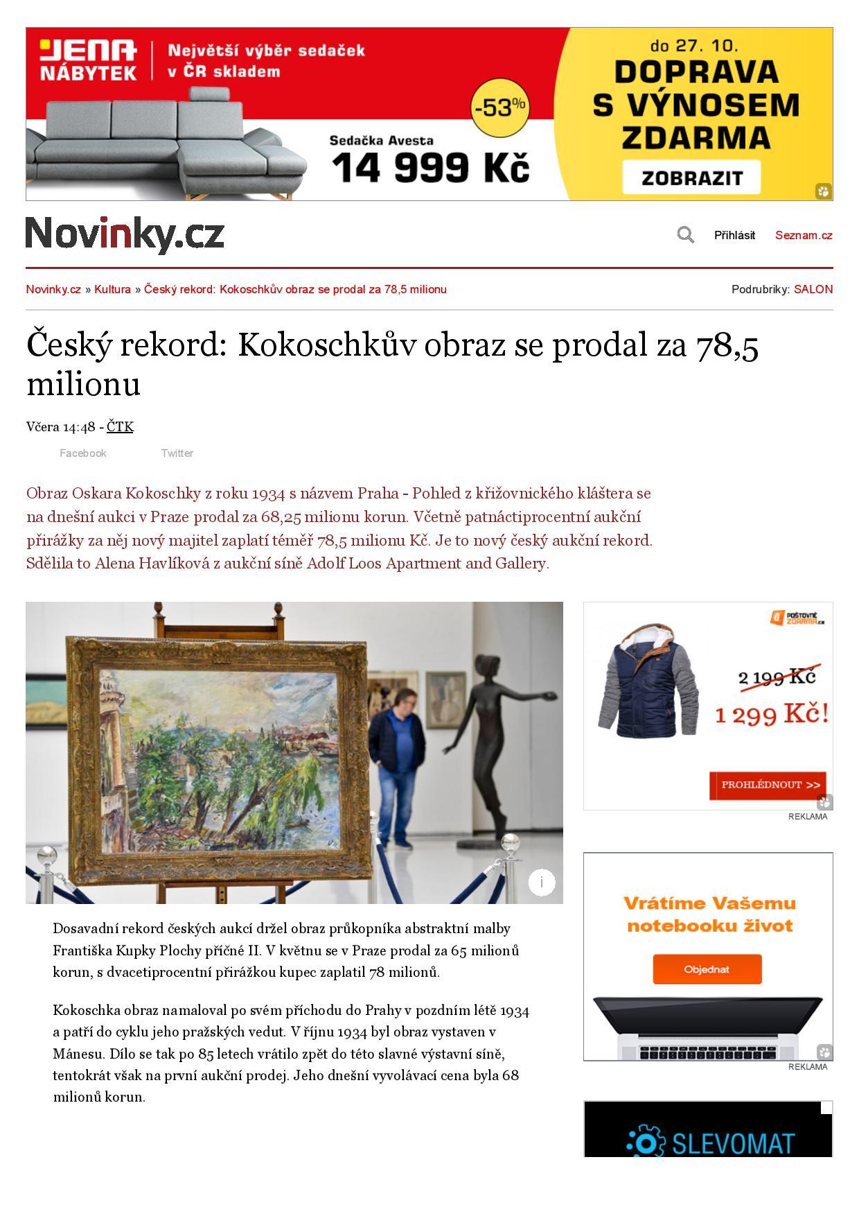 Novinky.cz, 20/10/2019, 1/2