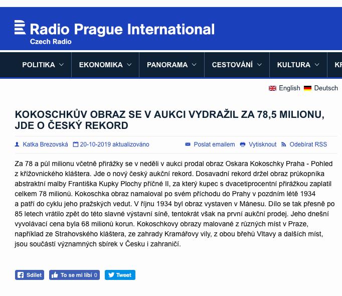 Radio.cz, 20/10/2019