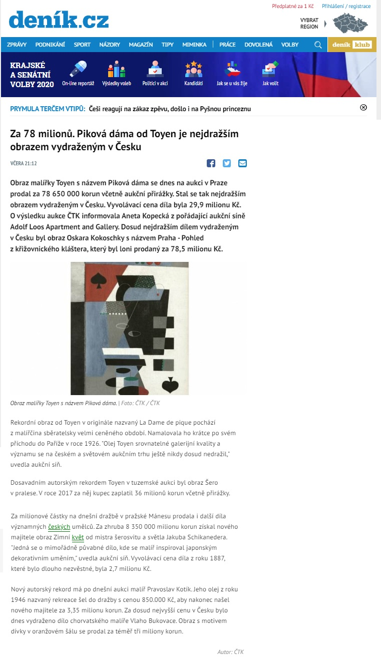 denik.cz, 4. 10. 2020