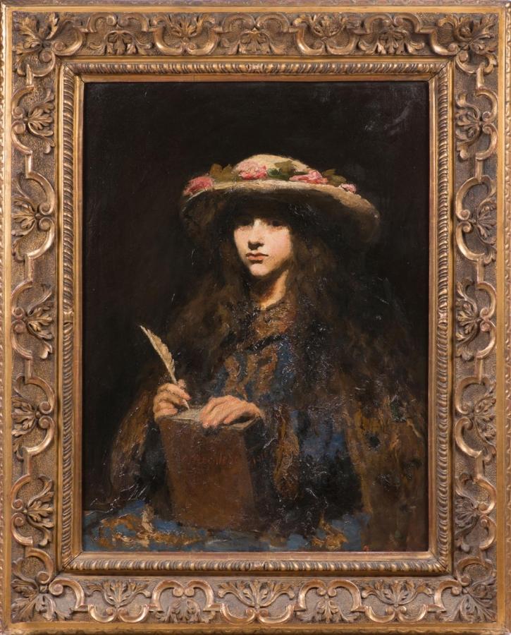 Děvče s knihou