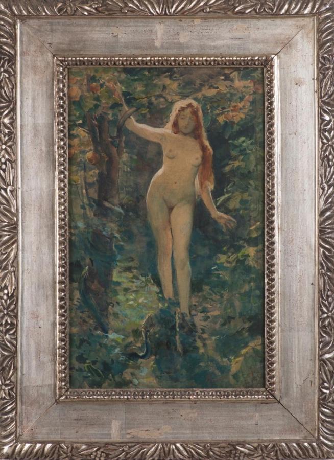 Eva v ráji