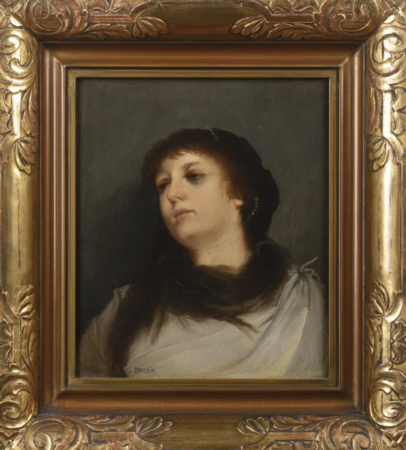 Portrét dívky