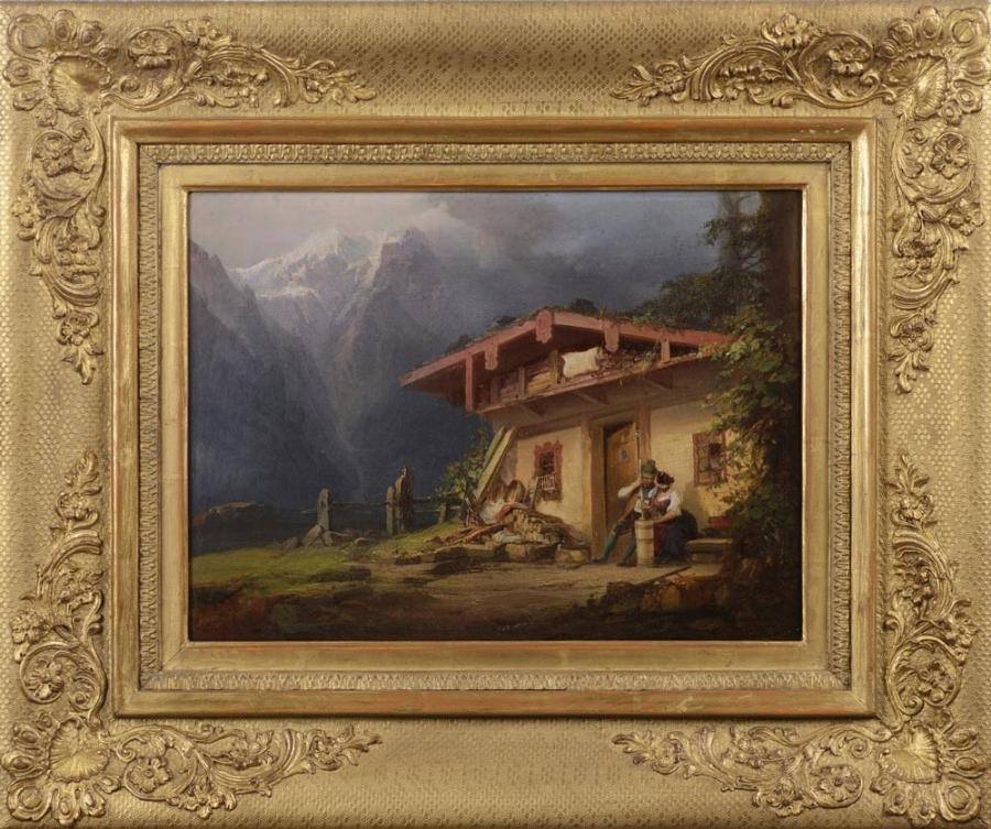 Alpský motiv