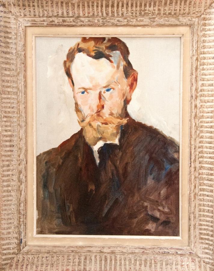 Portrét muže (pravděpodobně otce umělce)