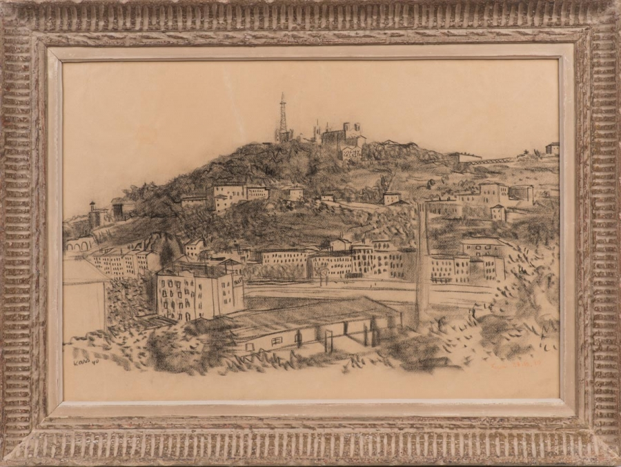 Pohled na Lyon