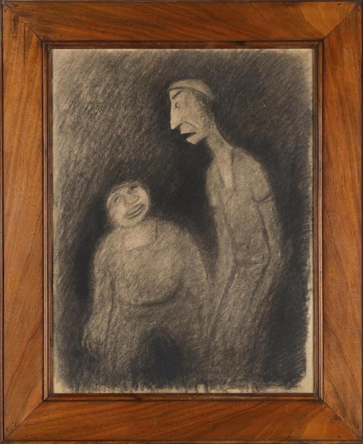 Námořníci Noho a Hugo Tarpaulin (z povídky E. A. Poe: Král Mor)