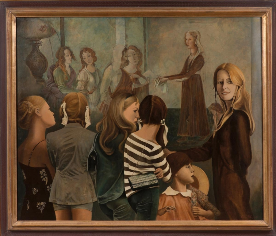 Volba krásy v Louvre