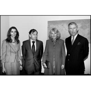 S princem Charlesem, vévodkyní z Cornwallu a manželem, českým velvyslancem ve Velké Británii