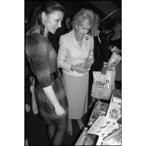 Na dobročinném bazaru CFAB s princeznou Alexandrou z Kentu