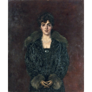 Portrait of Martha Hirsch (mother of Richard Hirsch) by Kalman Kemeny, private collection