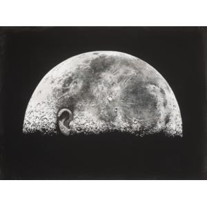 Měsíc svědek, 2020, olej na plátně, PRODÁNO