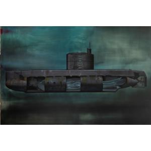 V ponorce, 2020, olej na plátně, rezervace