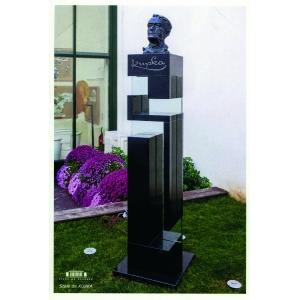 the monument of František Kupka in Paris - Puteaux