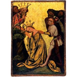 Umučení světice, 14. století