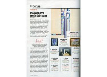 Miliardová trefa štětcem - FORBES 03/2017