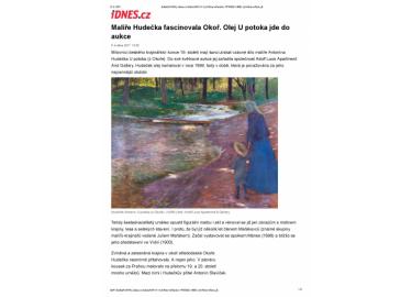 iDNES.cz, Kultura - zprávy, 6.5.2017, str. 1