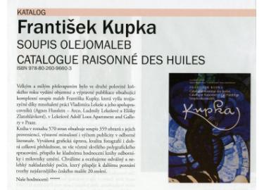 František Kupka - soupis olejomaleb