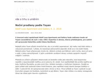 Artplus.cz, 25.1.2018, str. 1