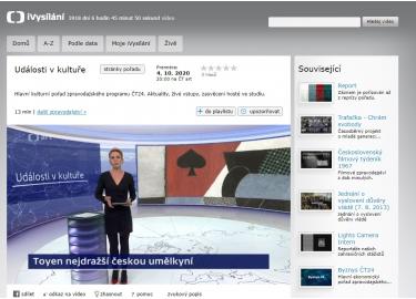 Česká televize, 5. 10. 2020